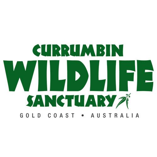 Currumbin Wildlife Sanctuary Gold Coast logo.