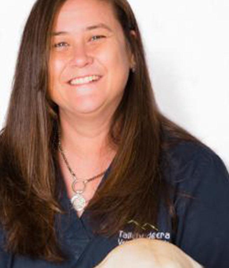 A photo of Debbie Grimley.